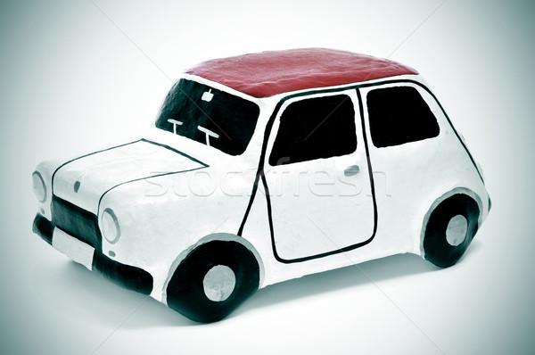 papier-mache toy car Stock photo © nito