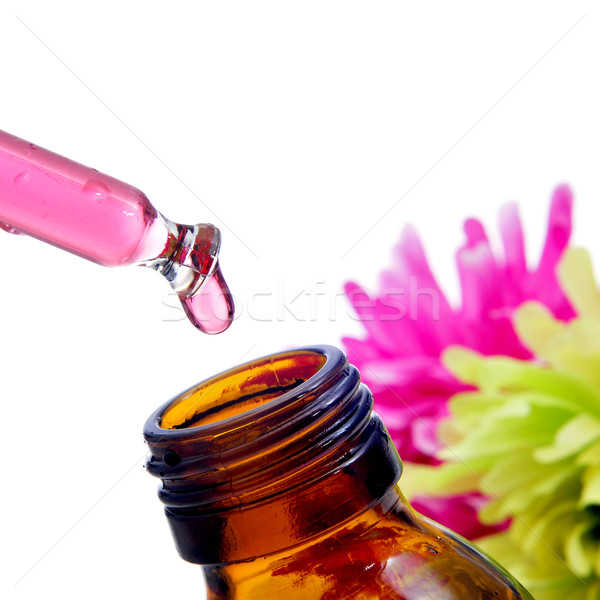 Bach flower remedies Stock photo © nito