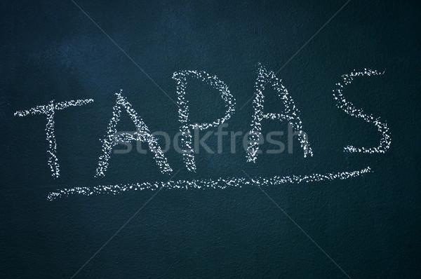 tapas Stock photo © nito