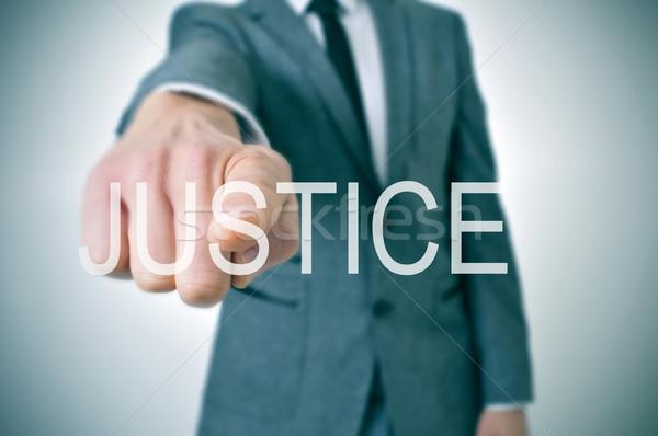 justice Stock photo © nito