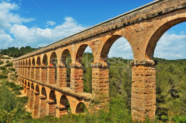 Romana España paisaje viaje piedra arquitectura Foto stock © nito