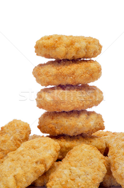 chicken nuggets Stock photo © nito
