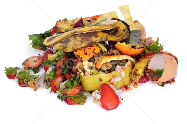 Alimentare rifiuti frutta vegetali cucina Foto d'archivio © nito