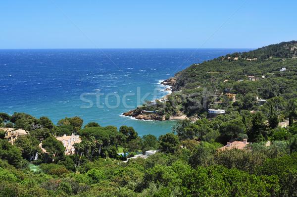 the coast of Begur, in the Costa Brava, Catalonia, Spain Stock photo © nito
