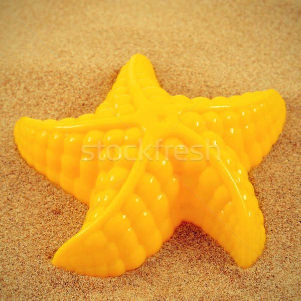 starfish in the sand Stock photo © nito