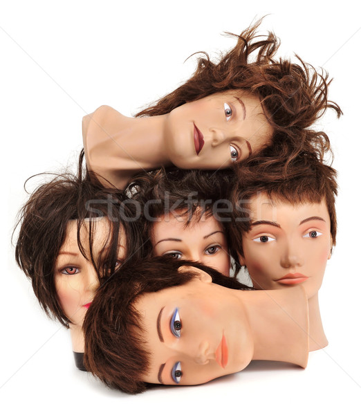 mannequin heads Stock photo © nito