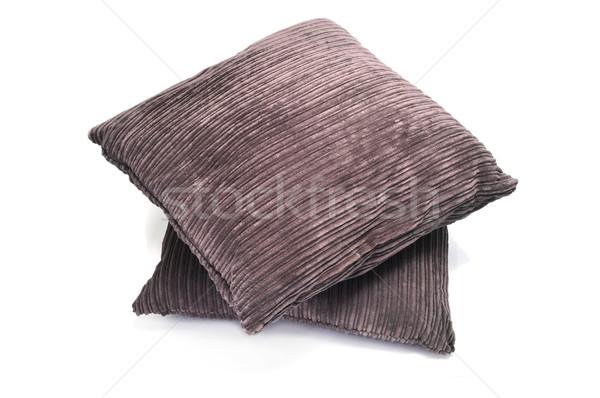 Paire brun blanche fond meubles Photo stock © nito