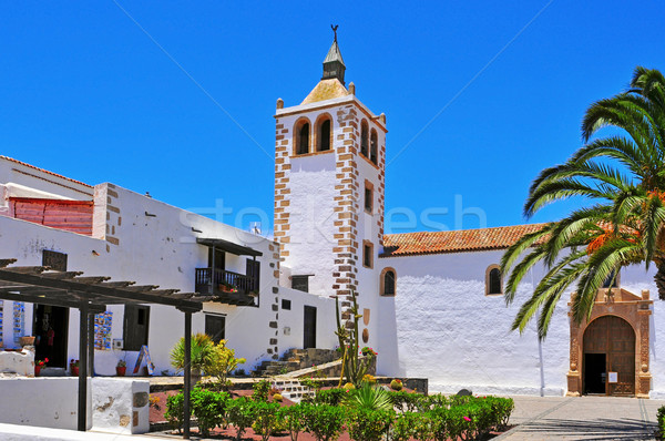 Cathedral Church of Saint Mary of Betancuria in Fuerteventura, C Stock photo © nito
