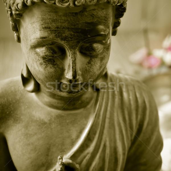 Zdjęcia stock: Buddy · kwiaty · kultu · retro · dar