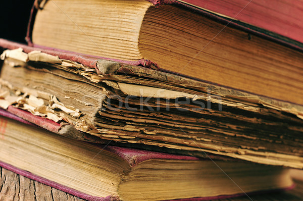 worn-out old books  Stock photo © nito