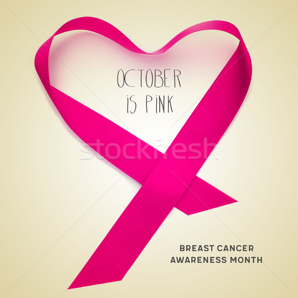 breast cancer awareness month Stock photo © nito
