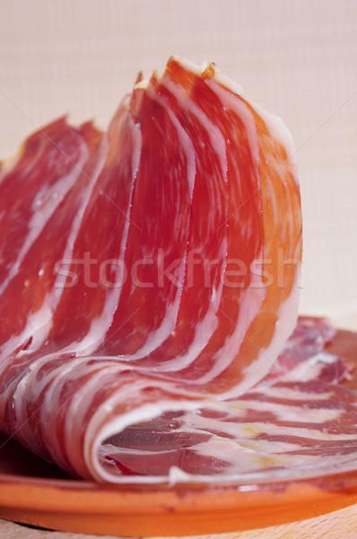 Serrano jambon tapas plaque espagnol Photo stock © nito
