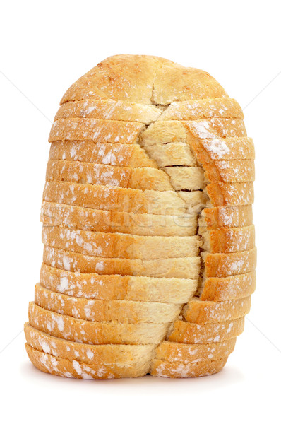 sliced bread loaf Stock photo © nito