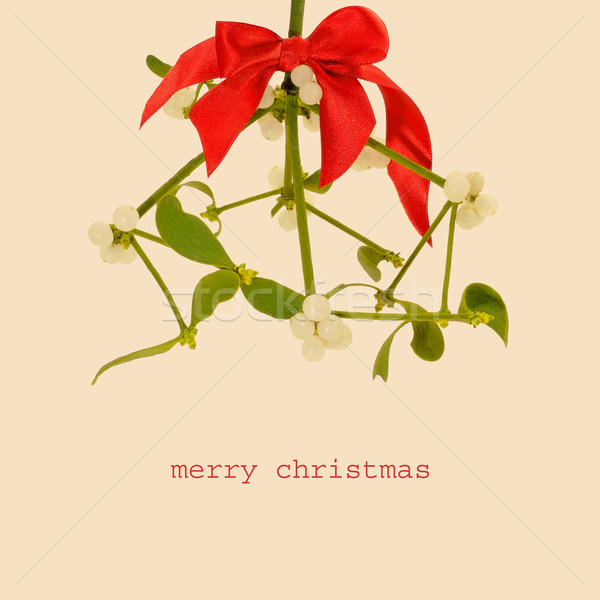 merry christmas, with a retro effect Stock photo © nito