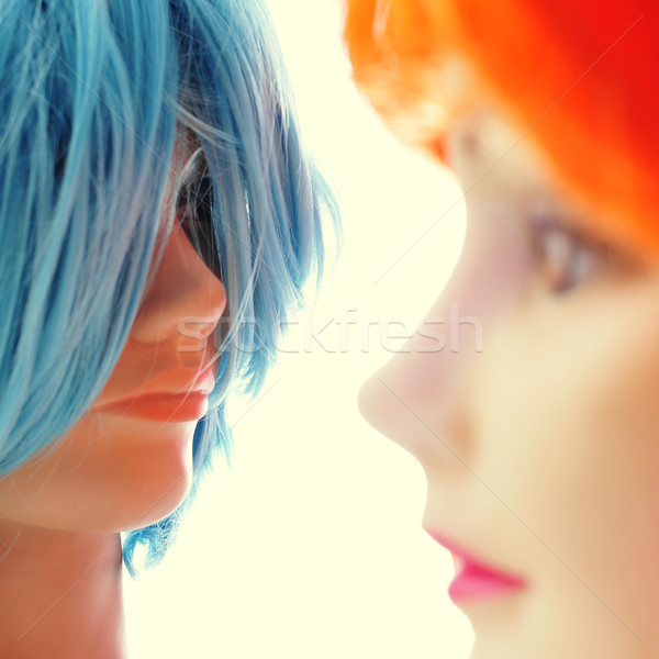 wigs of different colors Stock photo © nito