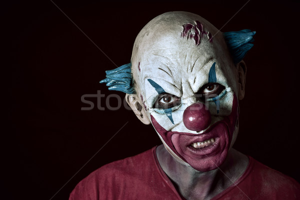 scary evil clown Stock photo © nito