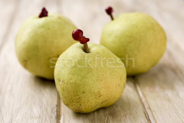 passe crassane pears on a table Stock photo © nito