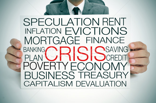 economic crisis Stock photo © nito
