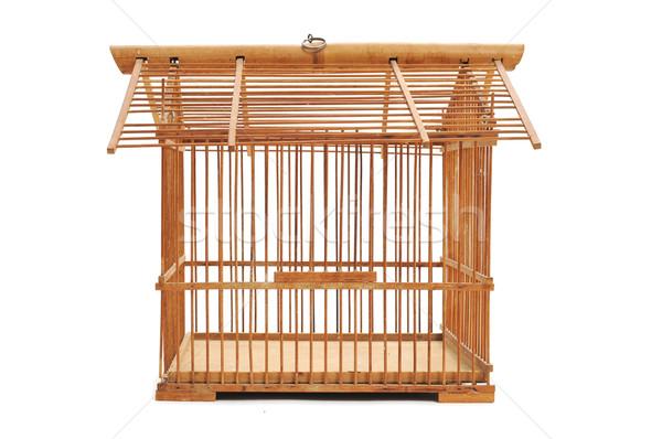 bamboo birdcage Stock photo © nito