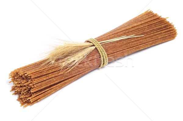生 全粒小麦 スパゲティ 白 パスタ ストックフォト © nito