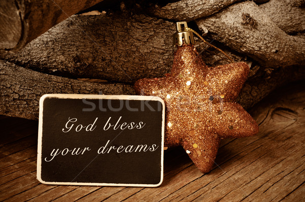 god bless your dreams Stock photo © nito