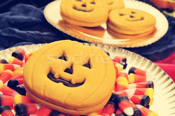 Halloween food, filtered Stock photo © nito