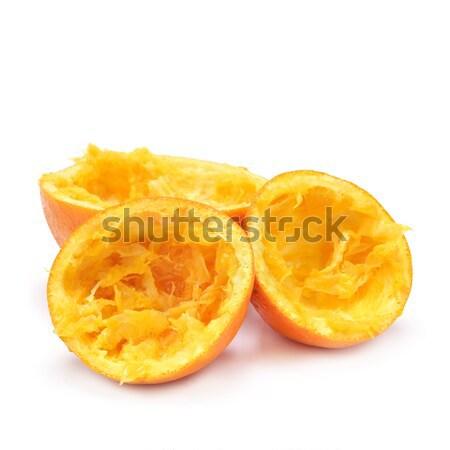 squeezed oranges Stock photo © nito