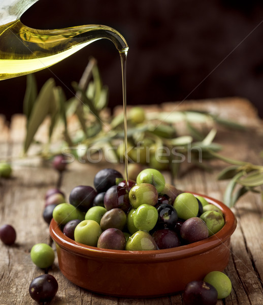 arbequina olives from Spain Stock photo © nito