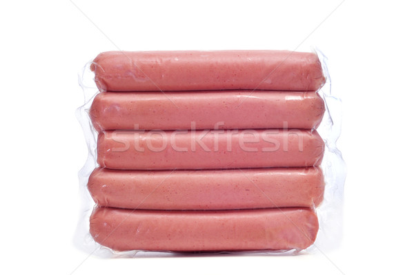 raw hot dogs Stock photo © nito