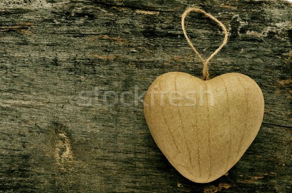heart-shaped ornament Stock photo © nito