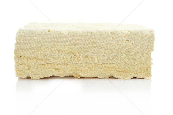 Tofu fehér étel egészség háttér tej Stock fotó © nito