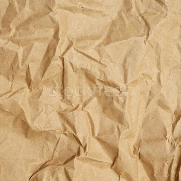 Stock fotó: Barna · papír · háttér · közelkép · papír · űr · retro