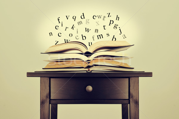 literature or knowledge Stock photo © nito