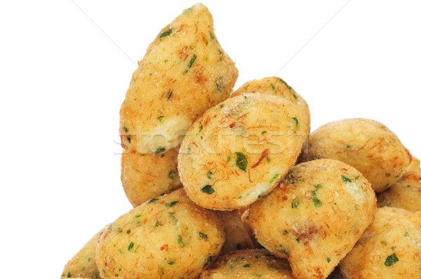 bunuelos de bacalao, spanish cod fritters Stock photo © nito