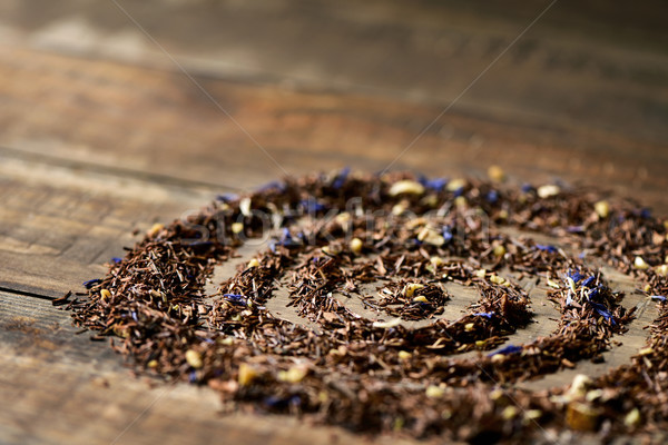 rooibos mixed with flowers, dry fruits and herbs Stock photo © nito