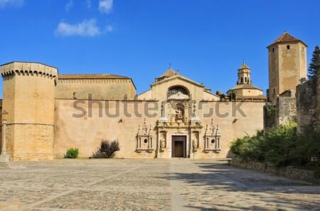 Koninklijk abdij gebouw steeg Stockfoto © nito