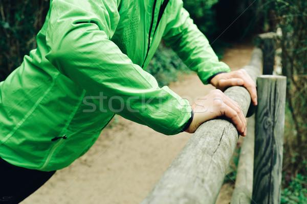 Jonge kaukasisch Stockfoto © nito