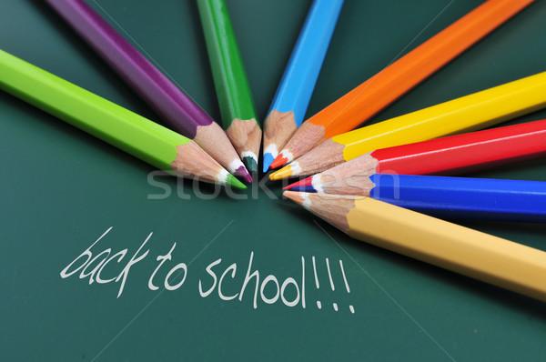 back to school Stock photo © nito
