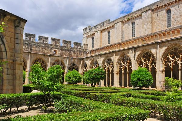 Monastery of Santa Maria de Santes Creus, Spain Stock photo © nito