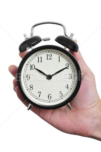 mechanical alarm clock Stock photo © nito