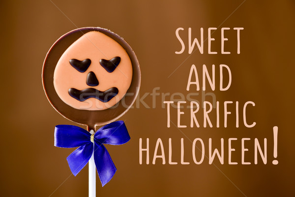 sweet and terrific halloween Stock photo © nito