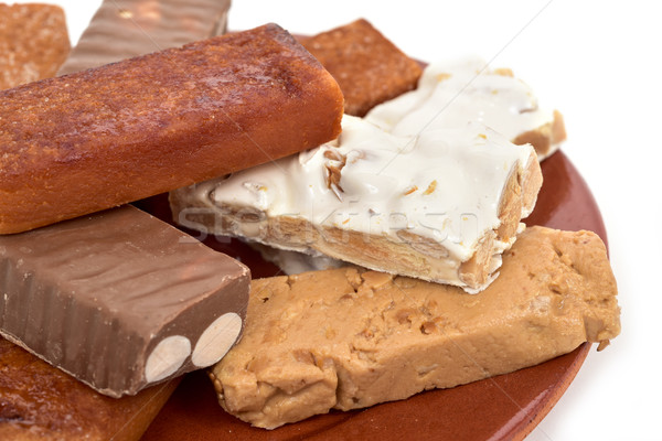 turron, typical christmas confection in Spain Stock photo © nito