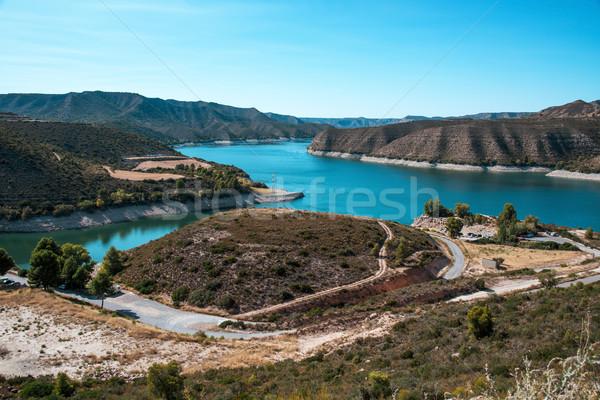 Rezervuar görmek nehir deniz doğa Avrupa Stok fotoğraf © nito