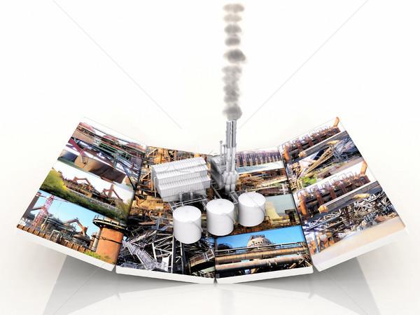 Usine photos affaires construction travaux technologie Photo stock © njaj