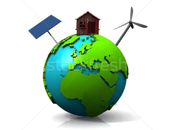 sustainable development on earth Stock photo © njaj