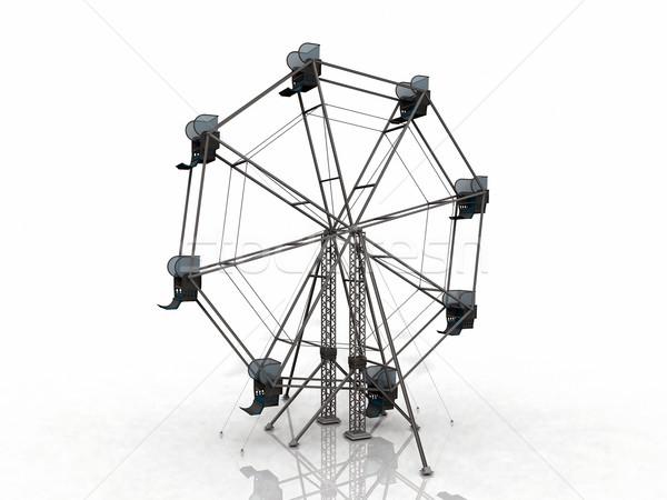 the big wheel Stock photo © njaj