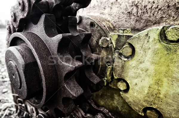 gear wheel Stock photo © njaj
