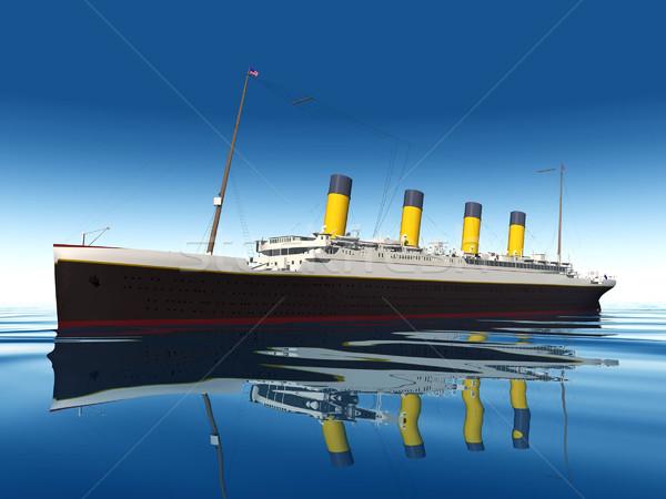 the titanic Stock photo © njaj