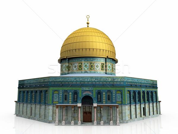 the mosque Stock photo © njaj