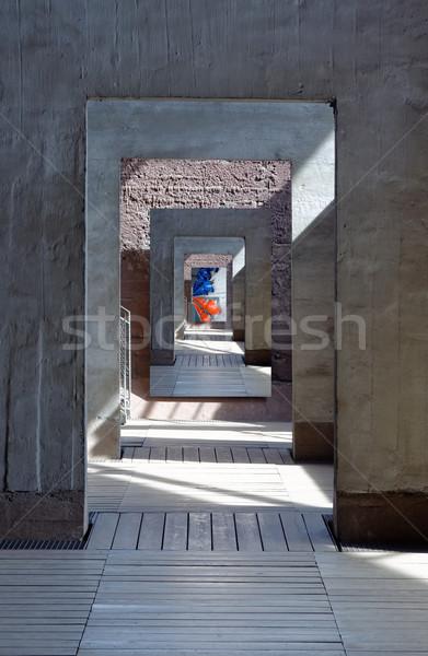 the hallway Stock photo © njaj